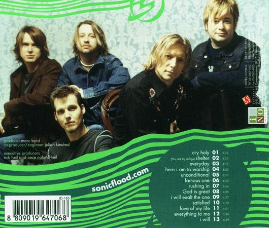 Sonicflood - Cry holy (CD)