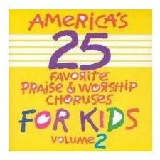 어린이 영어 찬양 Best 25 - Vol.2 (CD)