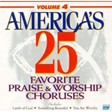 America's 25 Favorite Praise & Worship, Volume 4 (CD)
