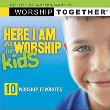 베스트 오브 모던 워십 키즈 [Here I Am To Worship for KIDS] (CD)