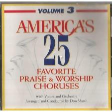 America's 25 Favorite Praise & Worship, Volume 3 (CD)