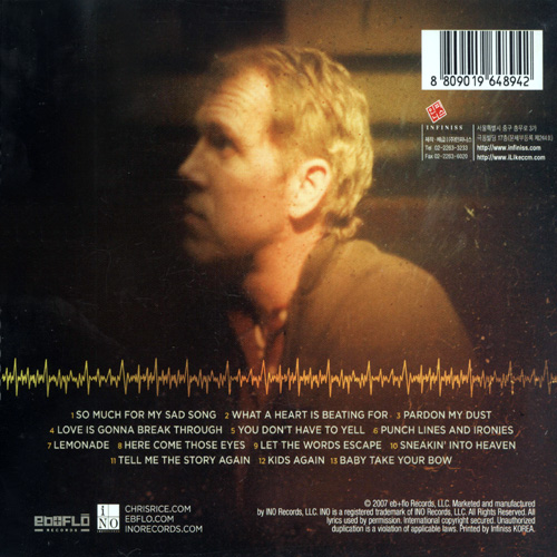 Chris Rice - What a Heart is Beating for (CD)