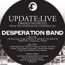 Desperation Band - UPDATE:LIVE (CD)