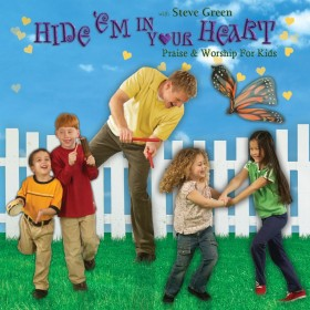 [이벤트30%]Steve Green - Hide'em In Your Heart  : Praise & Worship For Kids (CD)