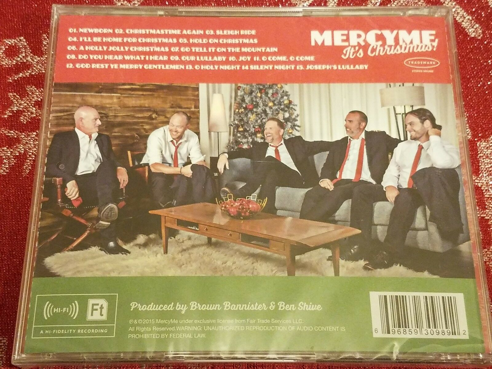 MercyMe - It's Christmas! (CD)