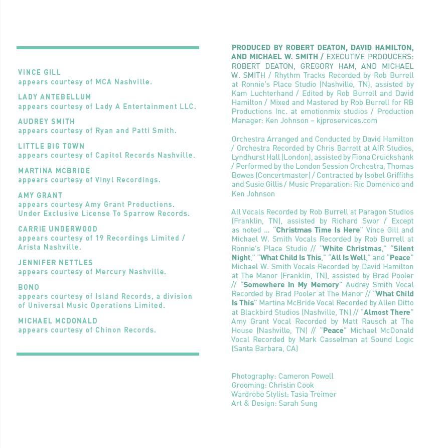 [이벤트20%]Michael W. Smith - The Spirit Of Christmas (CD)
