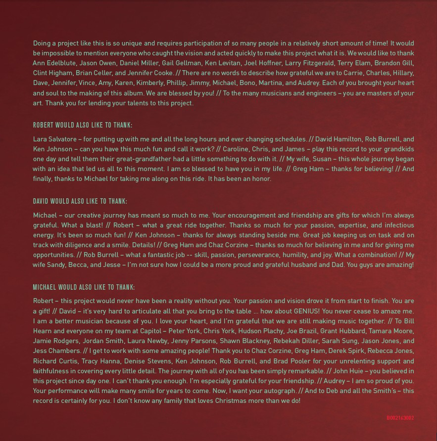 Michael W. Smith - The Spirit Of Christmas (CD)
