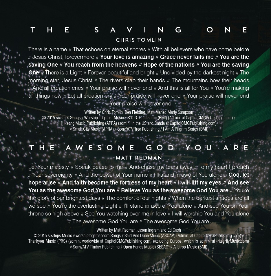 Passion 2015 - Even So Come (CD)