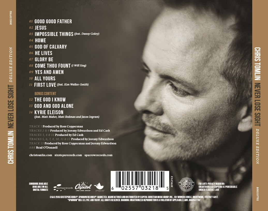 Chris Tomlin - Never Lose Sight [Deluxe Edition] (CD)