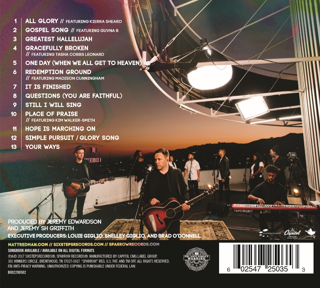 Matt Redman - Glory Song (CD)