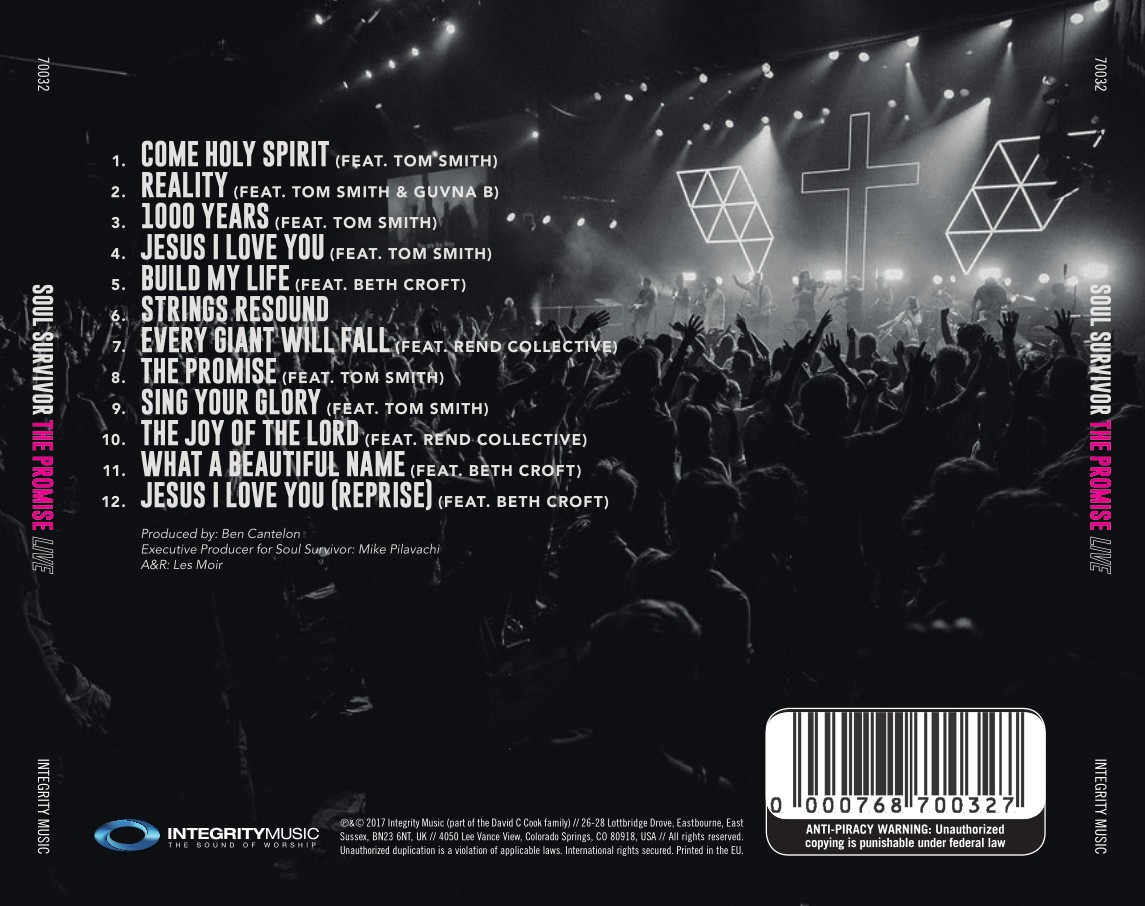 Soul Survivor - The Promise Live (CD)