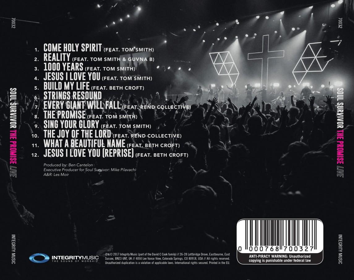 Soul Survivor - The Promise Live (CD)