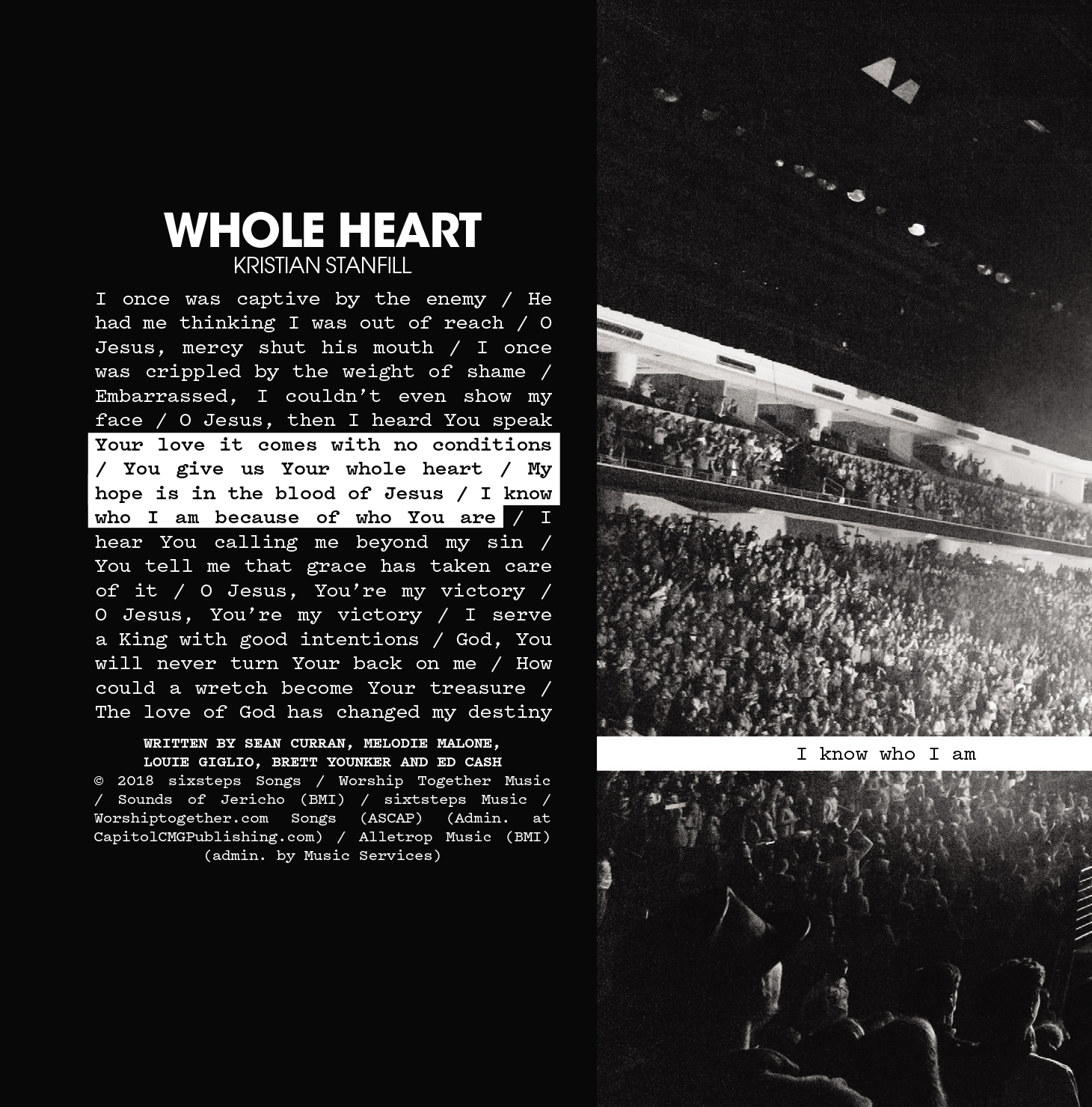 [이달의 아티스트]Passion 2018 - Whole Heart (CD)